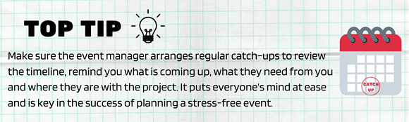 event manager top tip