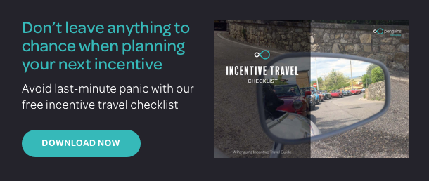 Download our FREE incentive travel checklist today